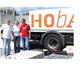 Marketingkonzept, neues Corporate Design und Sponsoringkooperation f�r die HOBA Baustoffhandel GmbH